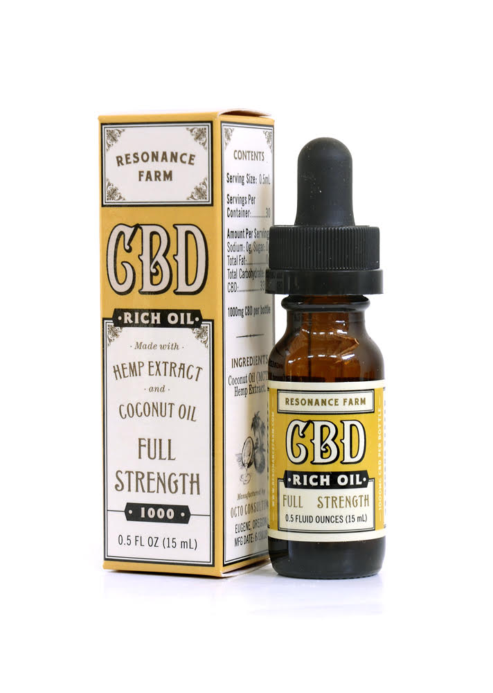 Full Strength Formula 1/2oz – 1000mg CBD