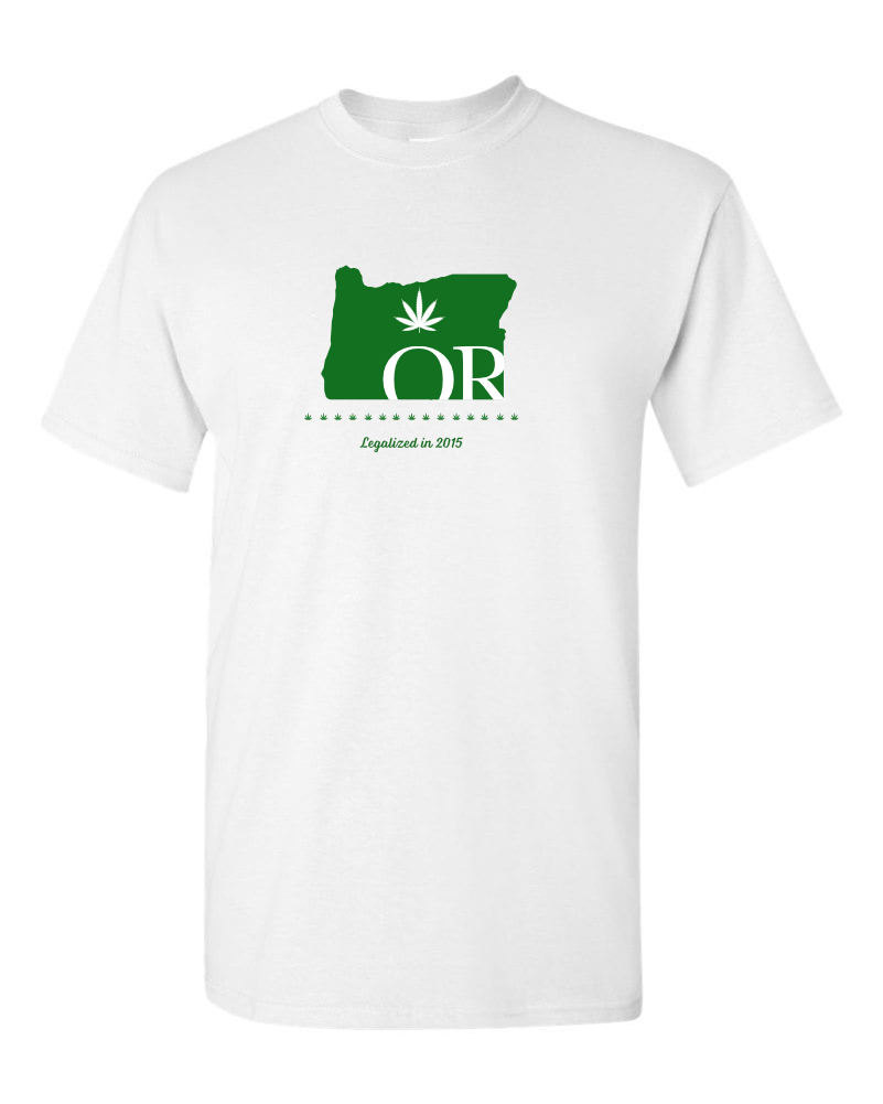 Oregon Legalized in 2015