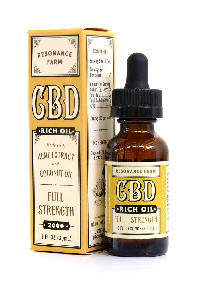 Full Strength Formula 1oz – 2000mg CBD (2+)